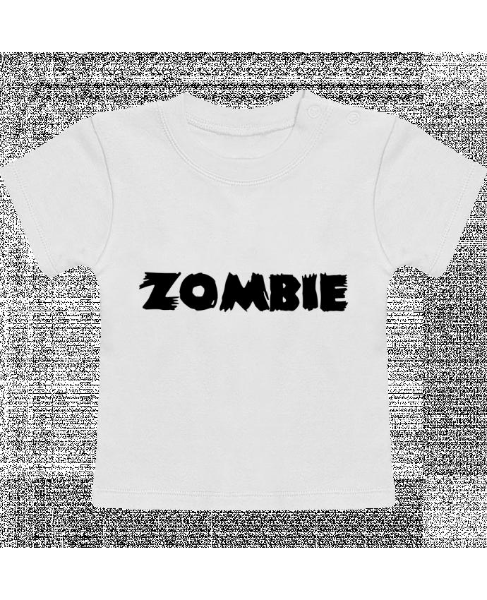 T-Shirt Bébé Manches Courtes Zombie manches courtes du designer L'Homme Sandwich