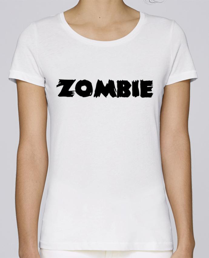 T-shirt Femme Stella Loves Zombie par L'Homme Sandwich