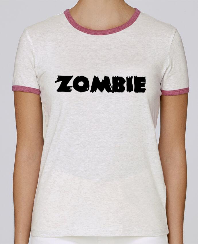 T-shirt Femme Stella Returns Zombie pour femme par L'Homme Sandwich