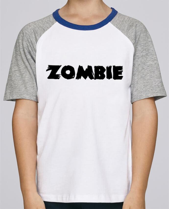 Tee-Shirt Enfant Stanley Mini Jump Short Sleeve Zombie par L'Homme Sandwich