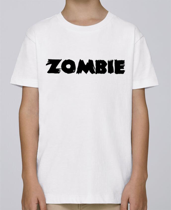 Tee Shirt Garçon Stanley Mini Paint Zombie par L'Homme Sandwich