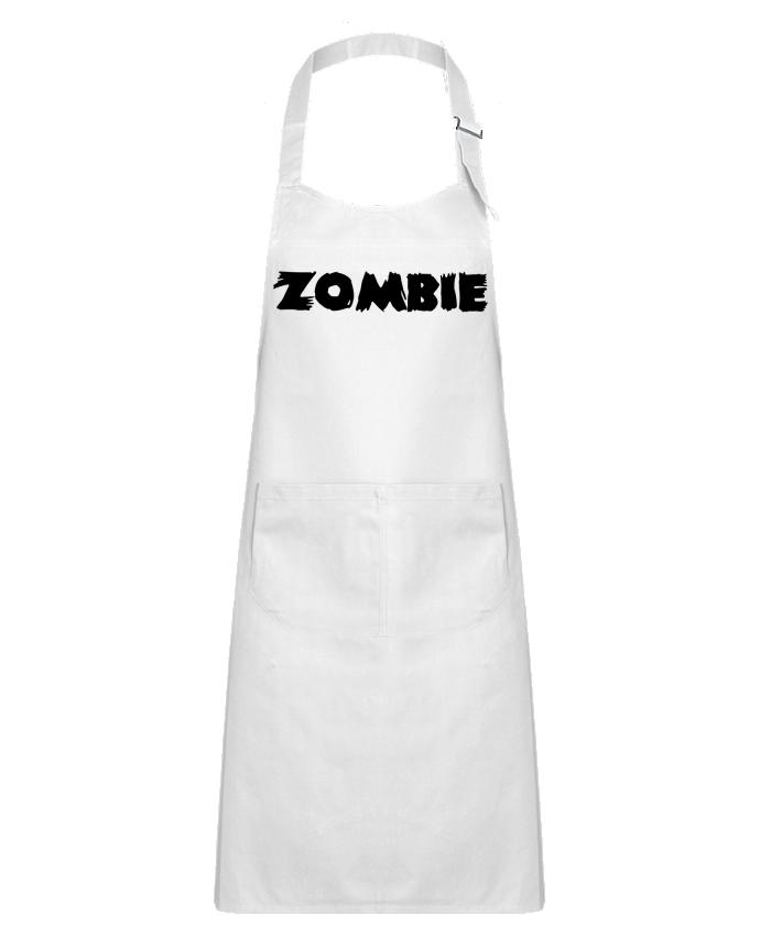 Tablier Enfant avec Poche Zombie par L'Homme Sandwich