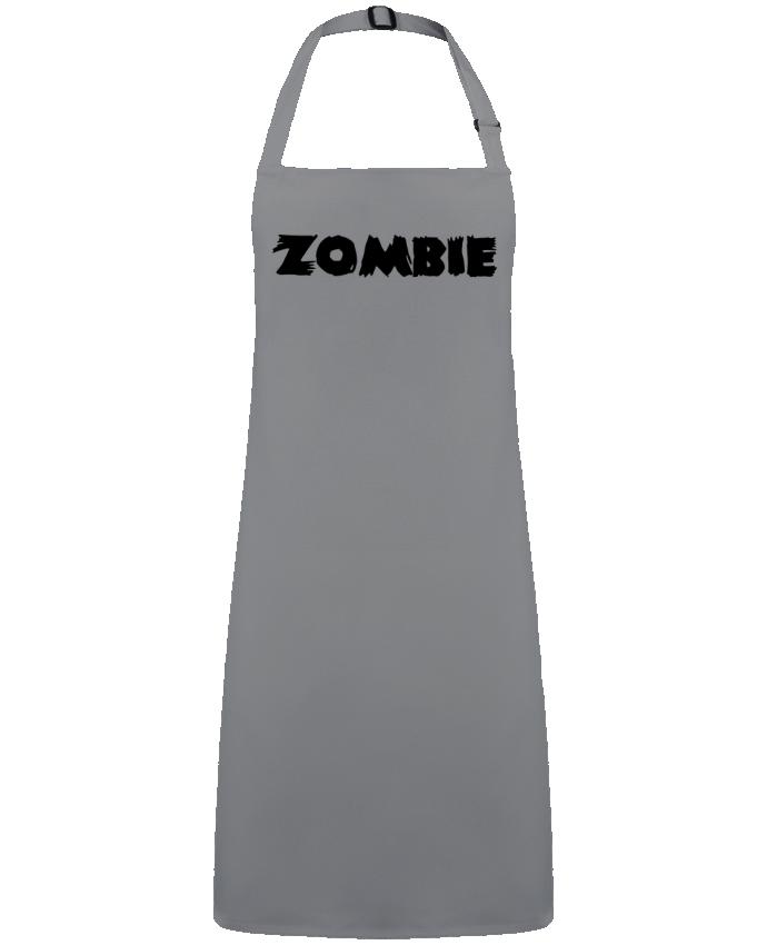 Tablier Sans Poche Zombie par  L'Homme Sandwich