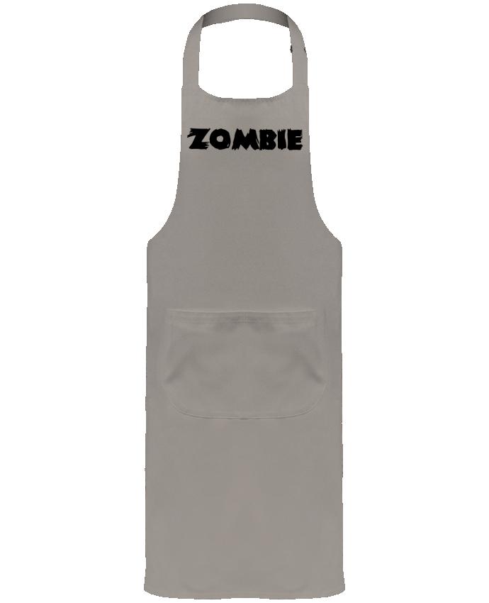 Tablier de Jardinier ou Sommelier avec Poche Zombie par L'Homme Sandwich