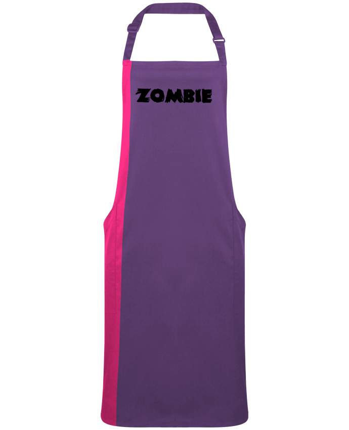 Tablier Long Bicolore Zombie par  L