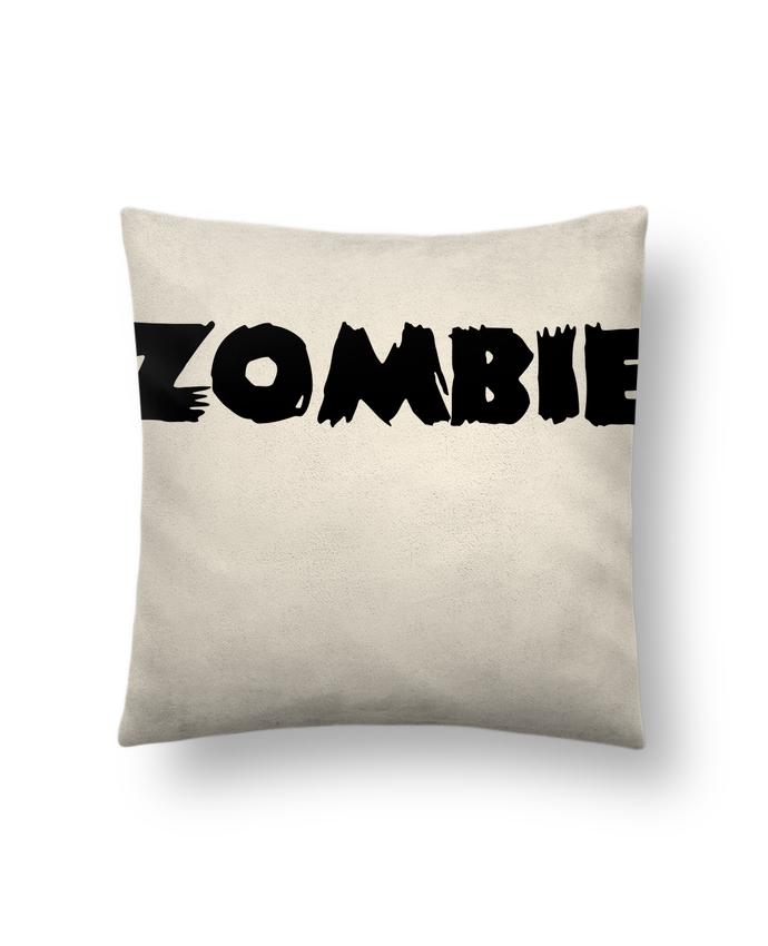 Coussin Toucher Peau de Pêche 41 x 41 cm Zombie par L'Homme Sandwich