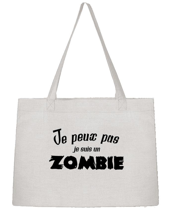 Sac Cabas Shopping Stanley Stella Je peux pas je suis un Zombie par L'Homme Sandwich