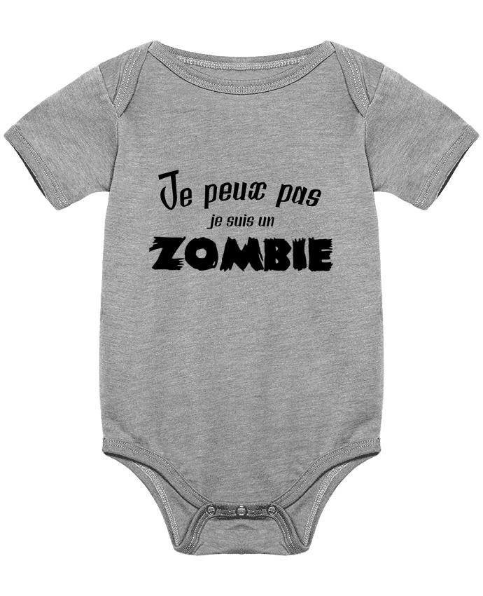 Body Bébé Je peux pas je suis un Zombie par L'Homme Sandwich