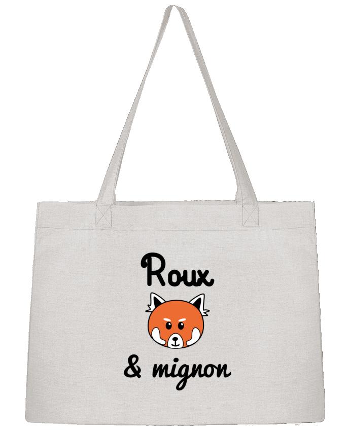 Sac Shopping Roux & Mignon, Panda roux par Benichan