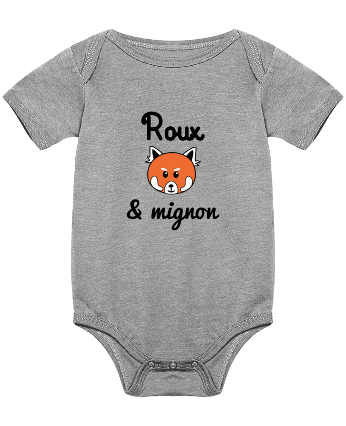 Body Bébé Roux & Mignon, Panda roux par Benichan