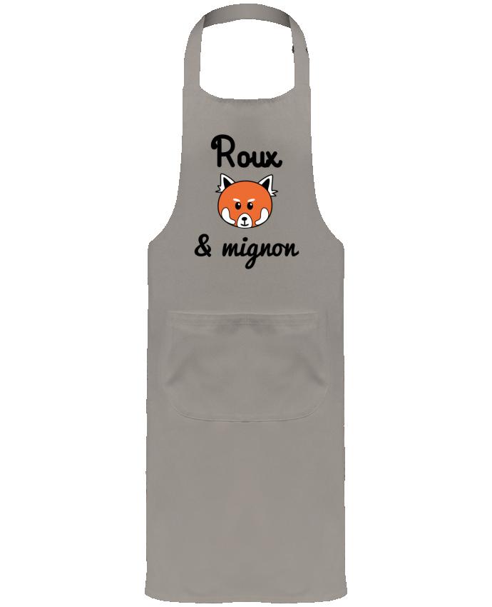 Tablier de Jardinier ou Sommelier avec Poche Roux & Mignon, Panda roux par Benichan
