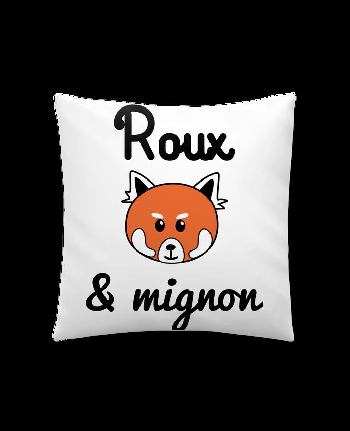Coussin Synthétique Doux 41 x 41 cm Roux & Mignon, Panda roux par Benichan