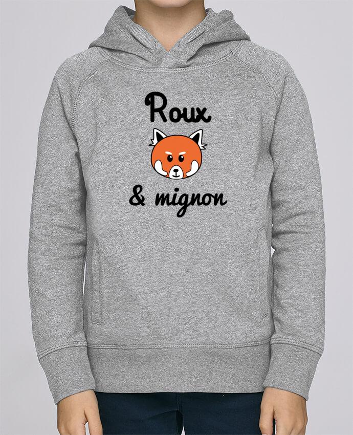 Sweat à Capuche Enfant Stanley Mini Base Roux & Mignon, Panda roux par Benichan