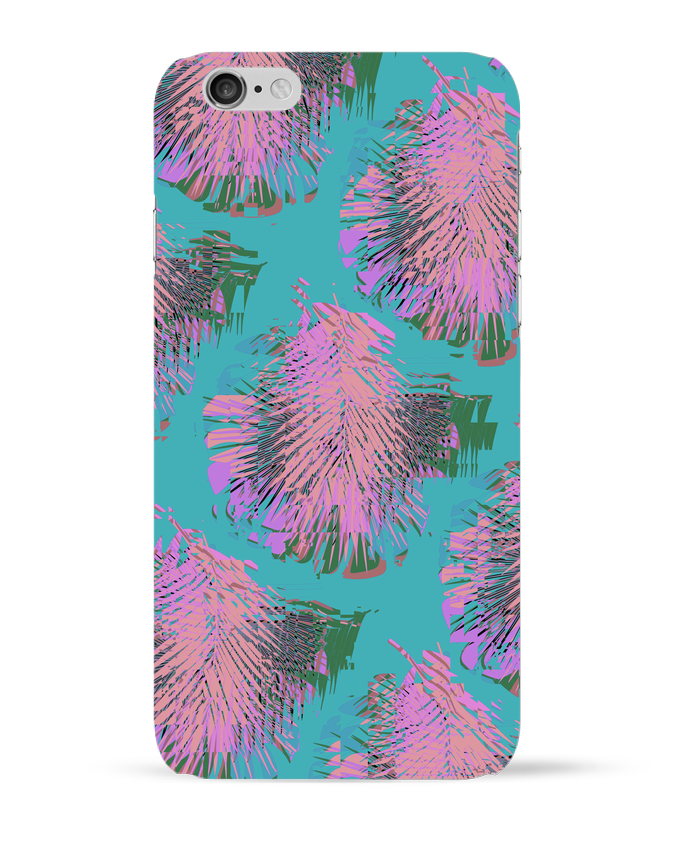 Coque 3D Iphone 6 Pink Palms par L