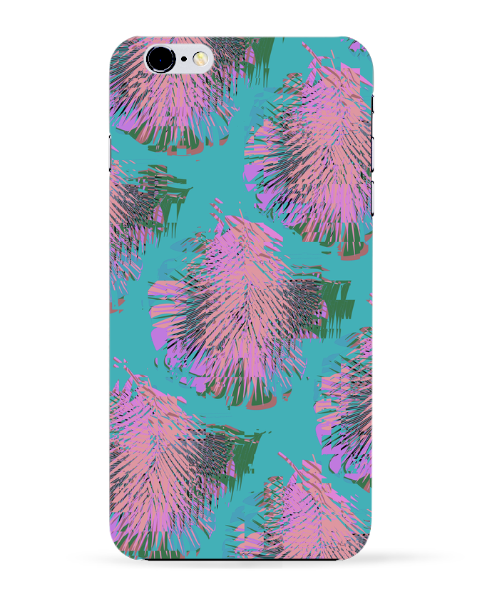 Coque 3D Iphone 6+ Pink Palms de L'Homme Sandwich