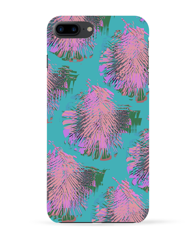Coque 3D Iphone 7+ Pink Palms par L