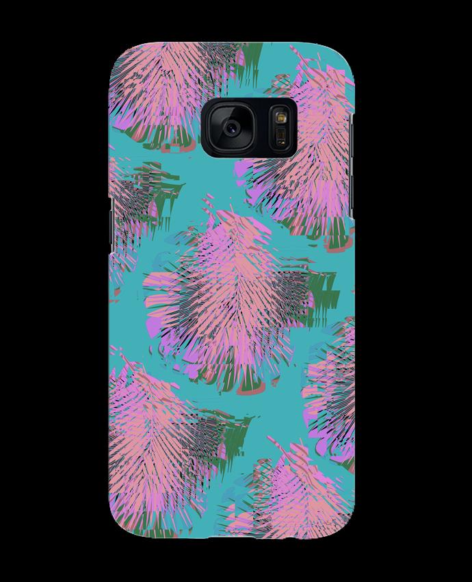 Coque 3D Samsung Galaxy S7 Pink Palms par L'Homme Sandwich