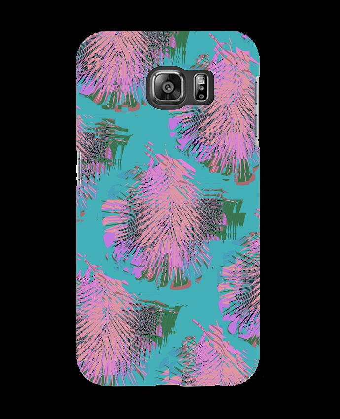 Coque 3D Samsung Galaxy S6 Pink Palms - L'Homme Sandwich