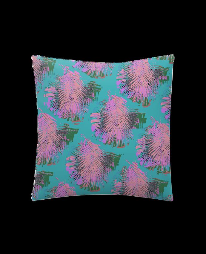 Coussin Synthétique Doux 41 x 41 cm Pink Palms par L'Homme Sandwich