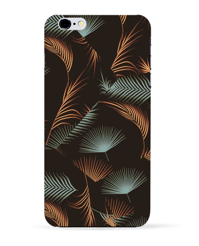 Coque 3D Iphone 6+ Golden Palms de L
