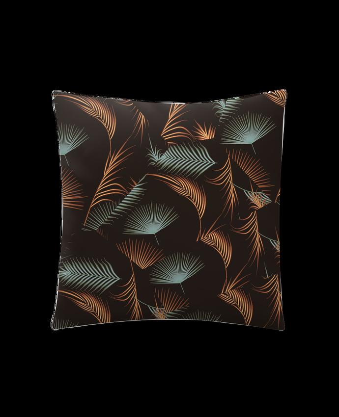 Coussin Synthétique Doux 41 x 41 cm Golden Palms par L'Homme Sandwich