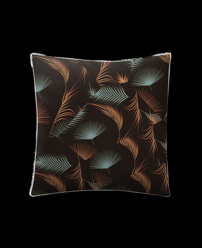 Coussin Toucher Peau de Pêche 41 x 41 cm Golden Palms par L'Homme Sandwich