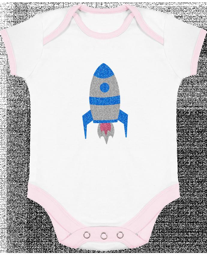 Body Bébé Contrasté Fusée par Les Caprices de Filles