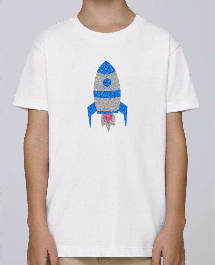 Tee Shirt Garçon Stanley Mini Paint Fusée par Les Caprices de Filles