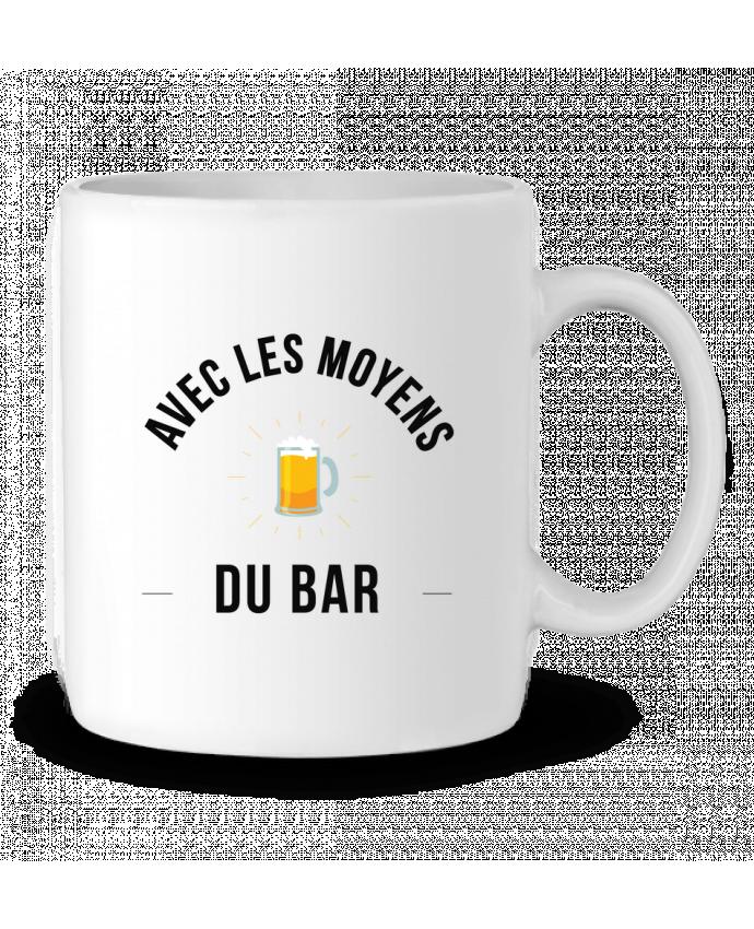 Mug en Céramique Avec les moyens du bar par Ruuud