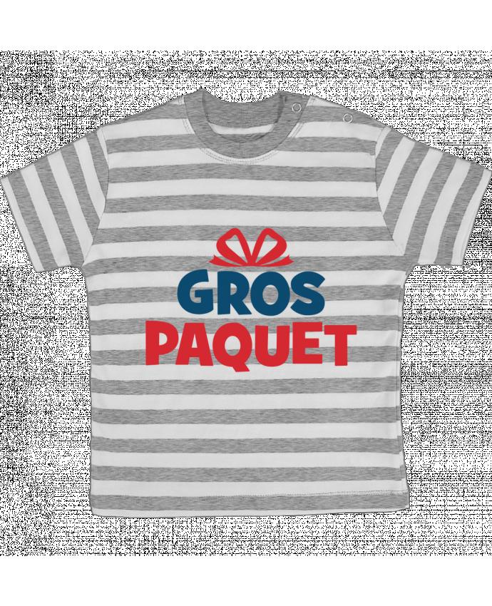 T-shirt Bébé à Rayures Noël - Gros paquet par tunetoo