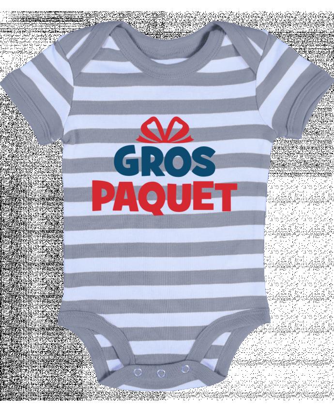 Body Bébé à Rayures Noël - Gros paquet - tunetoo