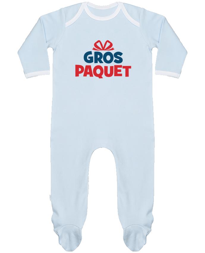 Pyjama Bébé Manches Longues Contrasté Noël - Gros paquet par tunetoo