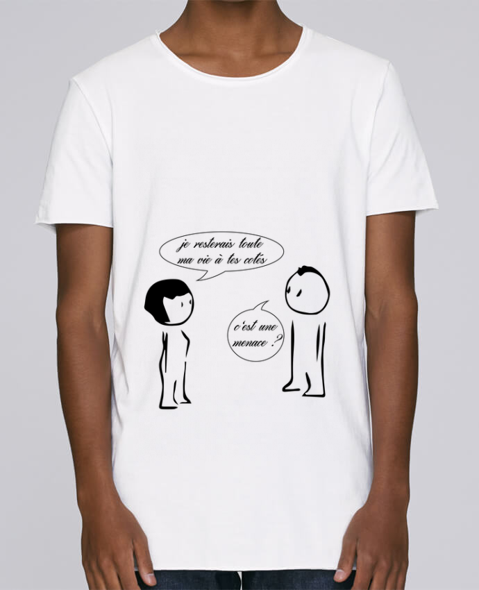 T-shirt Homme Oversized Stanley Skates Joli