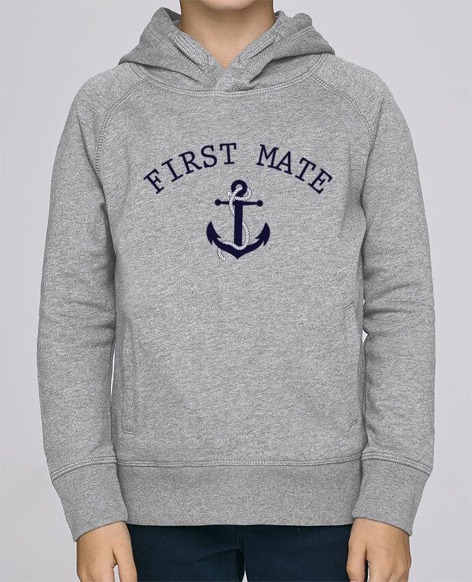 Sweat à Capuche Enfant Stanley Mini Base Capitain and first mate par tunetoo