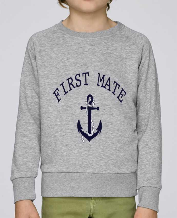 Sweat Col Rond Enfant Stanley Mini Scouts Capitain and first mate par tunetoo