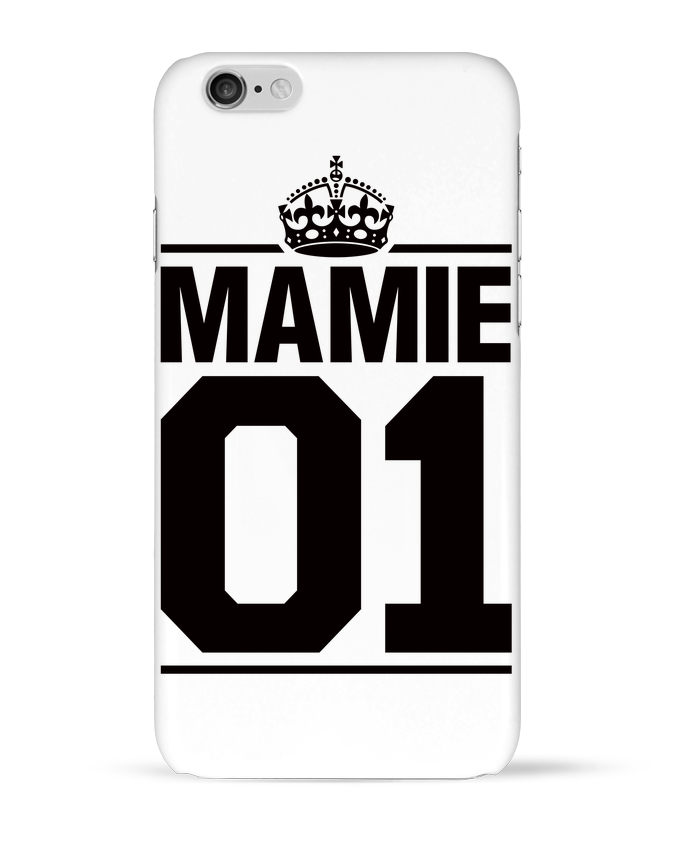 Coque 3D Iphone 6 Mamie 01 par Freeyourshirt.com