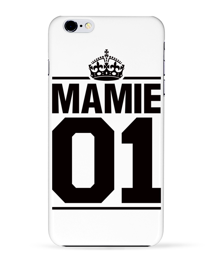 Coque 3D Iphone 6+ Mamie 01 de Freeyourshirt.com