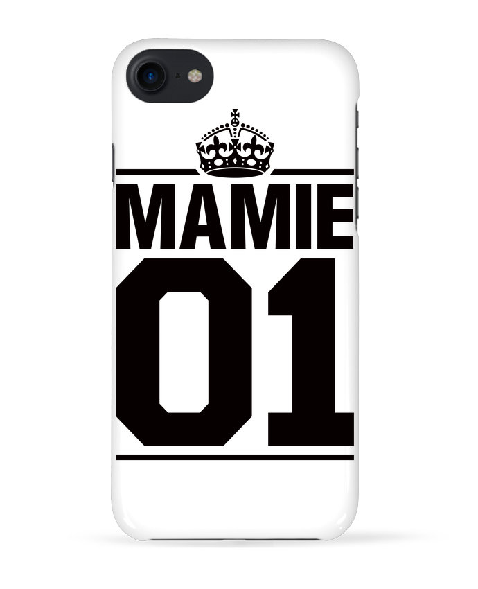 Coque 3D Iphone 7 Mamie 01 de Freeyourshirt.com