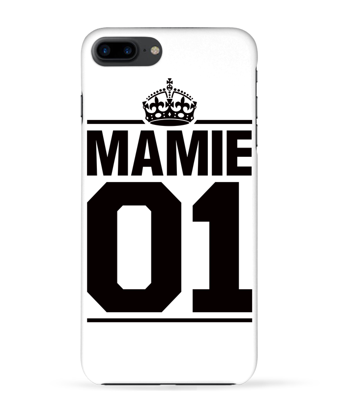 Coque 3D Iphone 7+ Mamie 01 par Freeyourshirt.com
