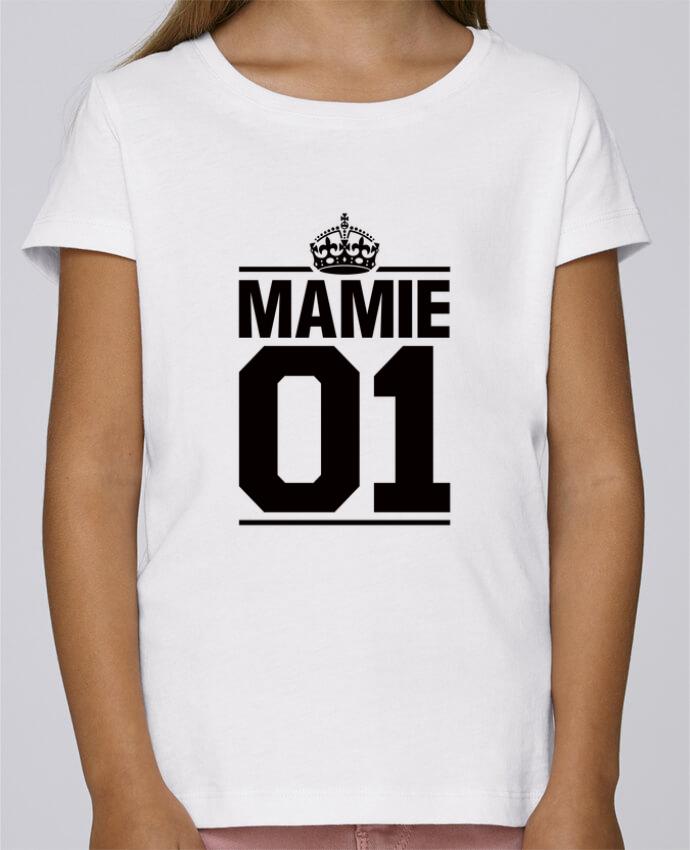 T-shirt Fille Mini Stella Draws Mamie 01 par Freeyourshirt.com