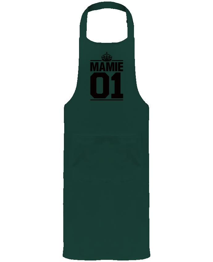 Tablier avec poches Mamie 01 par Freeyourshirt.com