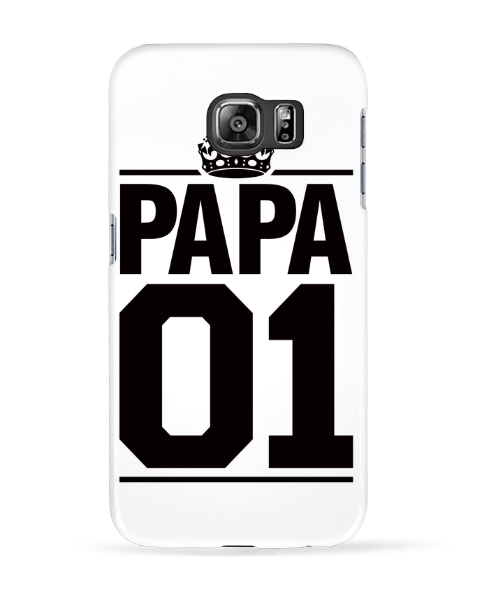 Coque 3D Samsung Galaxy S6 Papa 01 - Freeyourshirt.com