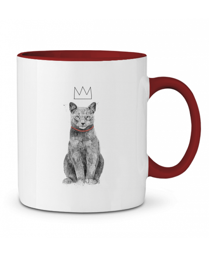 Mug en Céramique Bicolore King Of Everything Balàzs Solti