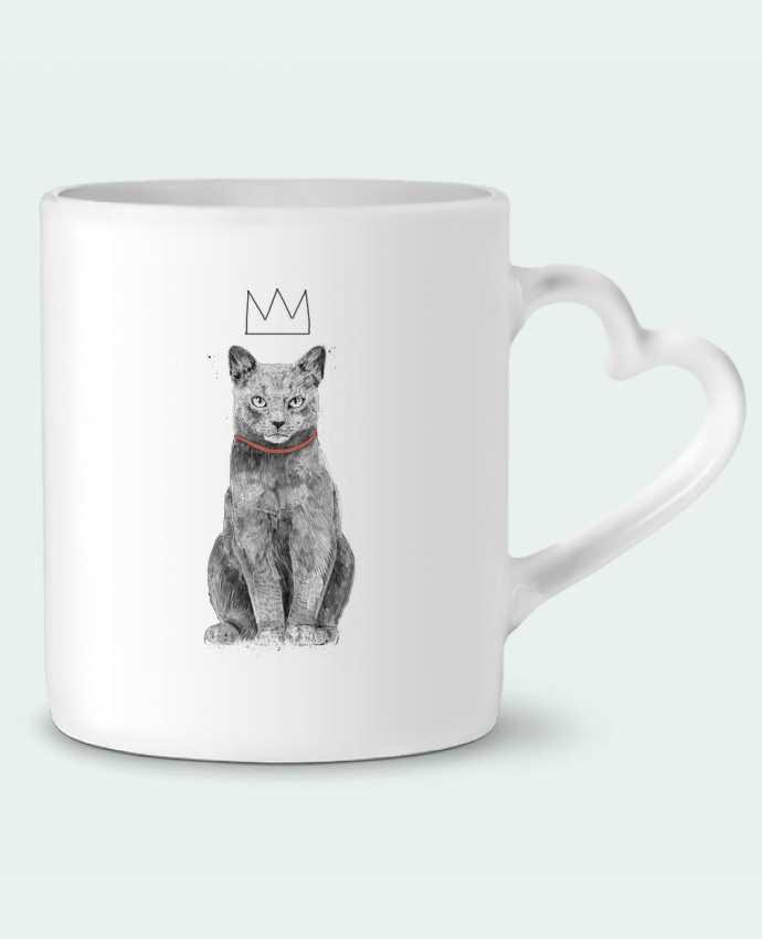 Mug Coeur King Of Everything par Balàzs Solti