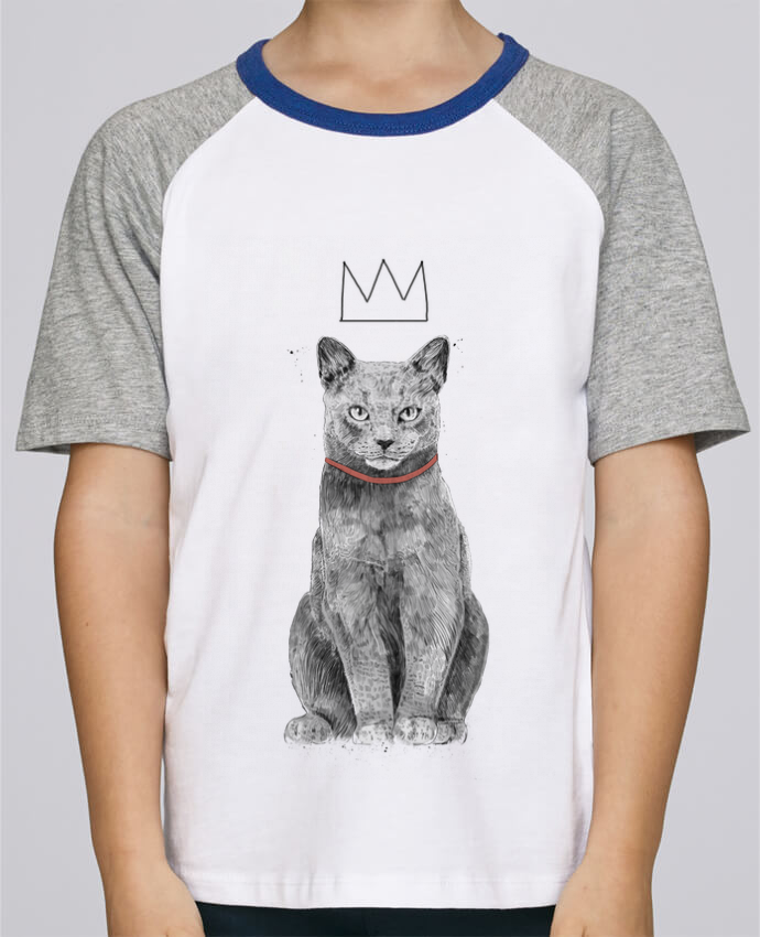Tee-Shirt Enfant Stanley Mini Jump Short Sleeve King Of Everything par Balàzs Solti