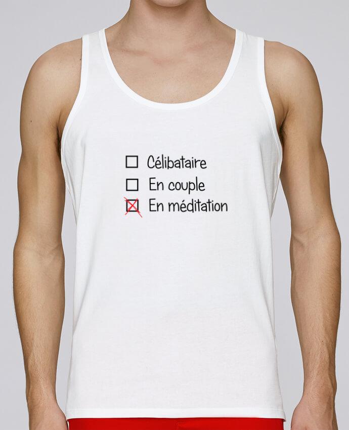 Débardeur Bio Homme Stanley Runs Yoga - En méditation par tunetoo 100% coton bio