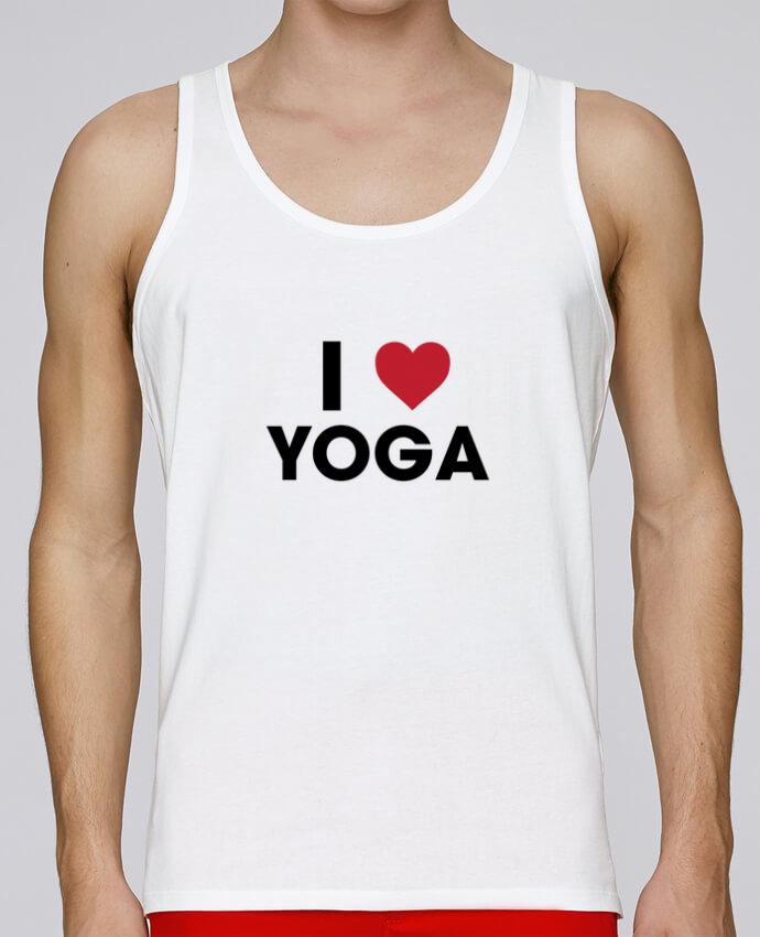 Débardeur Bio Homme Stanley Runs I love yoga par tunetoo 100% coton bio