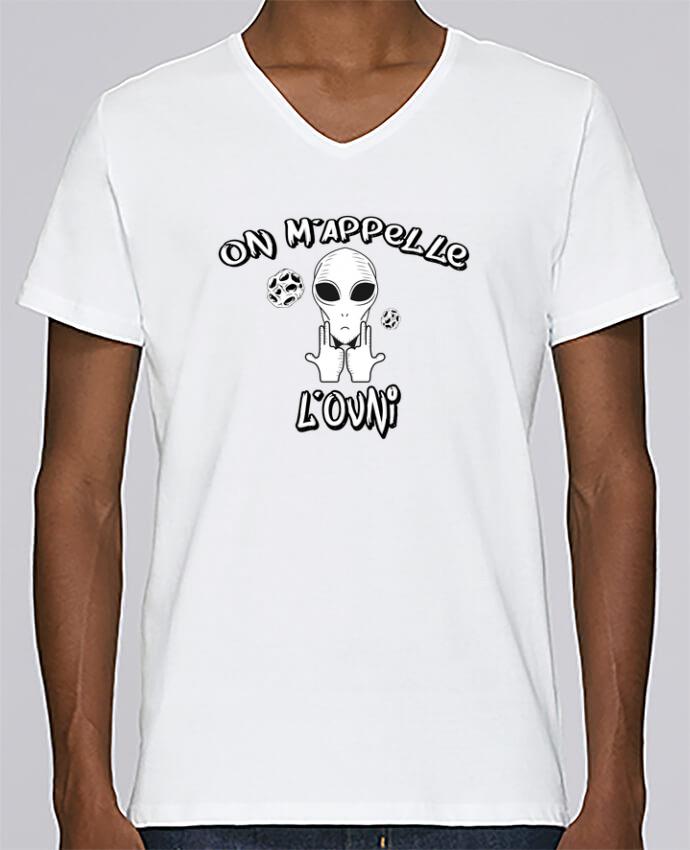 T-shirt Col V Homme Stanley Relaxes Ovni Jul par tunetoo