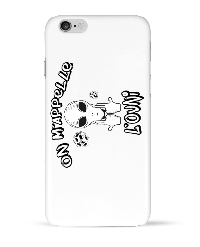 Coque 3D Iphone 6 Ovni Jul par tunetoo