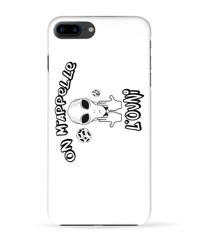 Coque 3D Iphone 7+ Ovni Jul par tunetoo